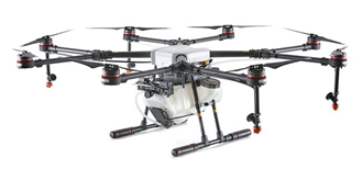 Open box DJI Agras MG-1S with Spraying System (RTK built in), not Battery not include any battery nor battery charger.